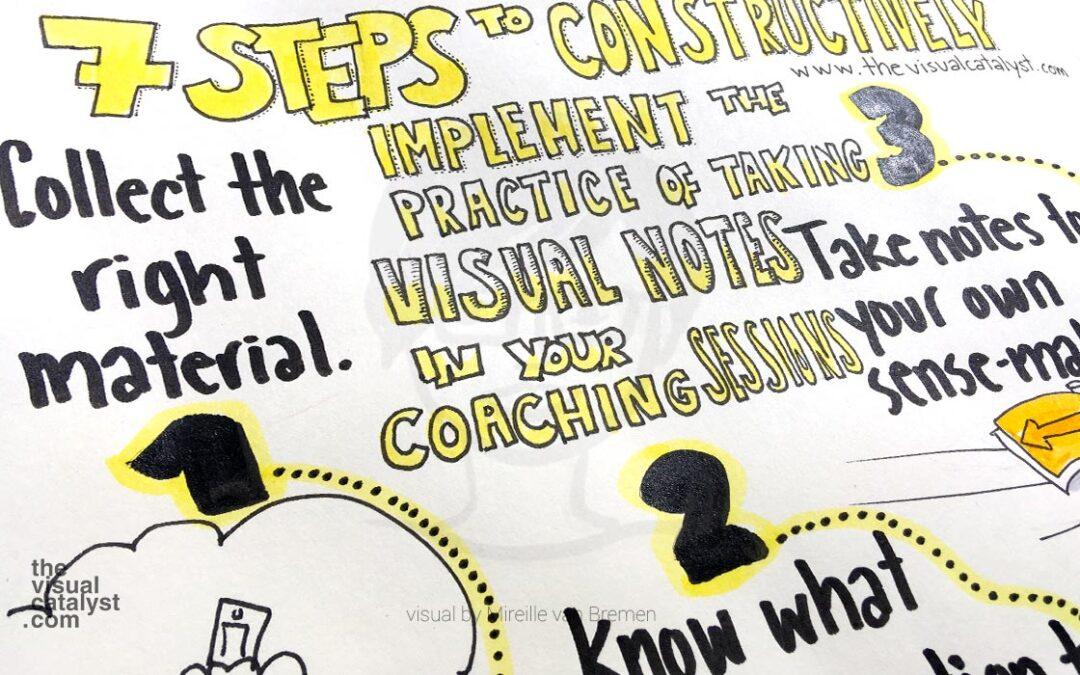 How to constructively develop your visual note-taking skill